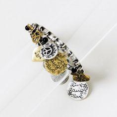 Peace of Mind Charm Bracelet