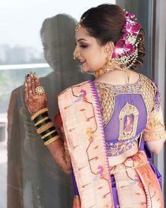 Marathi Saree, Marathi Bride, Marathi Wedding, Saree Wedding, Marathi Nath, Saree Wearing Styles, Nauvari Saree, Indian Fashion Trends, Brown Hair Balayage