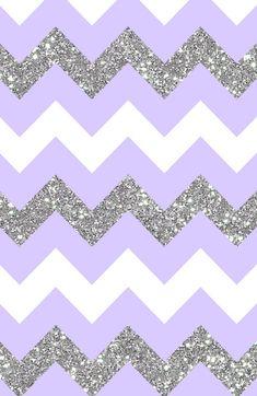 Lilac white silver chevron iphone wallpaper background phone lockscreen