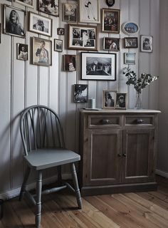 An Ornate Nest for Three in Norway   Design*Sponge, Photography by Pia Martine Gautier Bjerke #home #interior