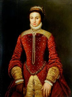Said to be Queen Mary I, Daughter of Henry VIII and Catherine of Aragon. (c) Museums Sheffield; Supplied by The Public Catalogue Foundation