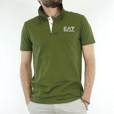EA7 Emporio Armani Polo Uomo Verde