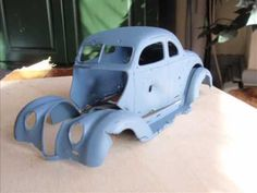 ▶ How to do a REALLY Rusty model car - YouTube