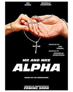 Mr and Mrs Alpha Poster Title Inspired by @mrandmrstoretto #CreativeSunday - MommyToretto (@mommytoretto)
