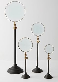 Anthropologie Standing Magnifying Glasses