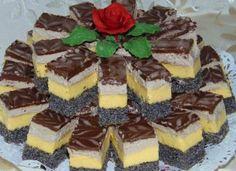 Prăjitură Orhideea, un dulce unic si special Hungarian Desserts, Hungarian Recipes, Poppy Cake, Cake Recipes, Dessert Recipes, Kolaci I Torte, Romanian Food, Cake Flavors, Food Cakes