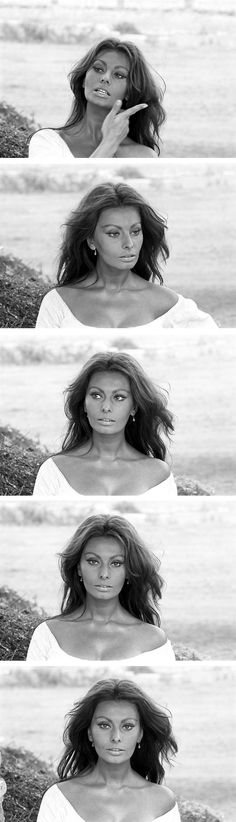 sophia loren. She is stinking gorgeous.