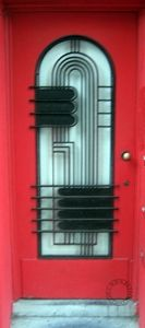Art Deco Door...Love anything Art Deco...this door is extremely deco to die for!