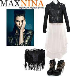 """rocker girl fashion"" by mandela921 ❤ liked on Polyvore"