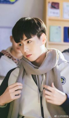 Hu Yi Tian is love~ Handsome Actors, Cute Actors, Handsome Boys, Asian Actors, Korean Actors, China Movie, Chines Drama, A Love So Beautiful, Daddy Long