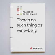 There's no such thing as wine-belly #wine #humor