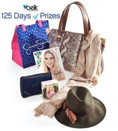 Enter to win a Jessica Simpson accessories wardrobe.#belk125