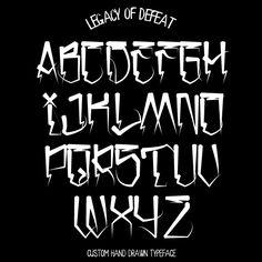 San Loscisco Alphabet