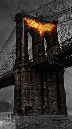 The Dark Knight Rise Bridge Logo, Riddler, Batman Wallpaper, City Wallpaper, Batman Rises, Marvel Dc, Marvel Comics, Dc World, The Dark Knight Rises