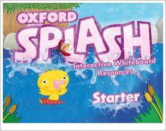 """""""Oxford Splash Starter"""". Materiales y actividades interactivas complementarias de Inglés de Educación Infantil de 3 años. English Play, English House, Oxford, English Resources, Interactive Whiteboard, Teaching Tips, Games To Play, Esl, Kids"""