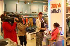 Marijke Boer van walk of fame tv kwam langs voor een sfeerreportage.