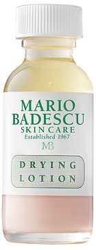 Drying Lotion from Mario Badescu Skin Care via mariobadescu.com