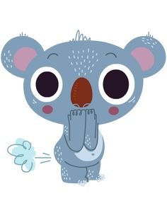Koala emoji for Ree on Behance