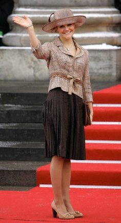 Crown Princess Victoria; christening of Prince Christian of Denmark in the Royal Chapel, Christiansborg on January 21, 2006