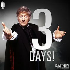 Doctor Who 3 days #savetheday