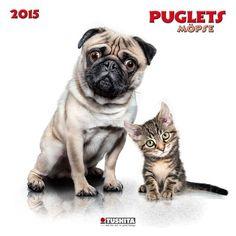 Puglets kalender 2015 Tushita - 150343 French Bulldog, Dogs, Animals, 2015 Calendar, Animales, Animaux, French Bulldog Shedding, Pet Dogs, Bulldog Frances