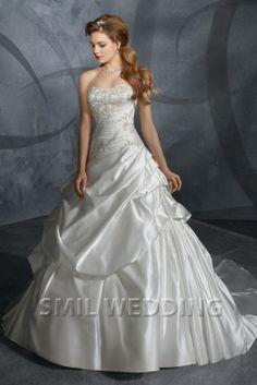 http://www.smilwedding.nl/zilver-wit-borduursel-strapless-korset-trouwjurken-prinses-tj2013096.html