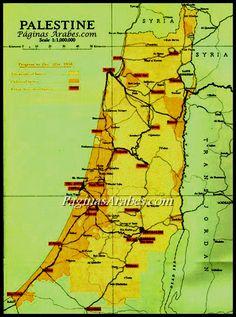 La segregada tierra palestina - Día de la Tierra