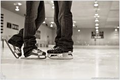 ice skate without having to hold onto the railings!