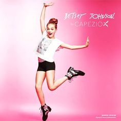 Maddie Ziegler is the face for the Betsey Johnson collection for capezio Credit ♥Dancemoms luver♥
