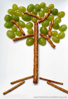 Fantastic Fun and Learning tree snack for kids ▶