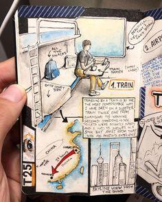Interview: Avid Adventurer Reveals His Brilliant Travel Journal Ideas Fantasy Warrior, Smash Book, Packing Tips For Travel, Travel Essentials, Journal Pages, Journal Ideas, Journal Inspiration, Junk Journal, Best Travel Journals