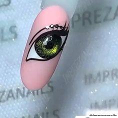 Rose Nail Art, Gel Nail Art, Nail Art Diy, Gel Nails, Acrylic Nails, Nail Polish, Nail Manicure, Nail Art Designs Videos, Nail Design Video