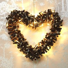 Coeur décoratif CORAZON Collection Noël 2013