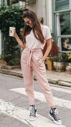 Indian Fashion Dresses, Girls Fashion Clothes, Teen Fashion Outfits, Fall Outfits, Summer Pants Outfits, Fashion Edgy, Fashion 2018, Fashion Spring, Hijab Fashion