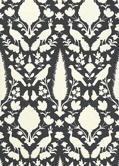 Chenonceau Charcoal Wallpaper SCHWA5004123