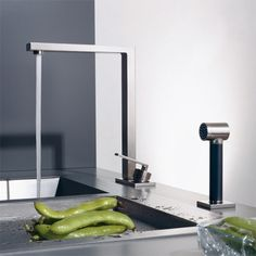 American Classic Modern Chrome Spiral Pull Down Kitchen Faucet By Kingston Brass Kitchen Faucets And Faucet