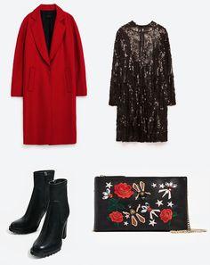 Coat: @zaraofficial  Dress: @zaraofficial  Bag: @zaraofficial Shoes: @zaraofficial @danihuss6 Zara, Polyvore, Image, Fashion, Moda, Fasion, Trendy Fashion, La Mode
