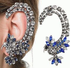 Tone Hummingbird Ear Cuff $6.95 with Free Shipping!!  Only 1 left at this price!