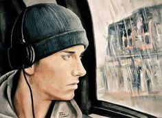 Eminem art from 8 Mile <3
