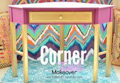 Corner Table Makeove