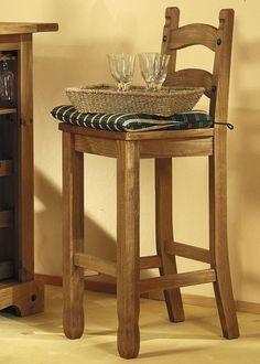 Barhocker Landhausstil landhaus stuhl 2er set henke möbel kiefer massiv antik 21122