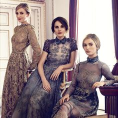 Dress Rentals for a Downton Abbey Themed Party - Salty Canary