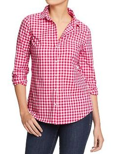 Women's Lightweight Patterned Shirts | Old Navy