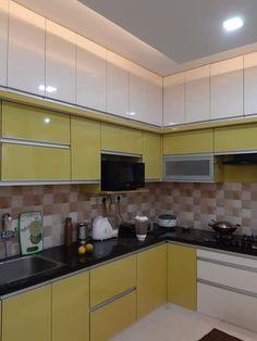 Kitchen Wardrobe Design, Kitchen Pantry Design, Modern Kitchen Design, Kitchen Layout, Interior Design Kitchen, Kitchen Countertop Decor, Diy Kitchen Decor, Kitchen Ideas, Kitchen Cabinets