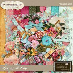 Spring Melody by Dana's Footprint Digital Design