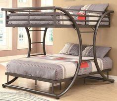 twin over queen bunk bed | Bedroom Designs Ideas