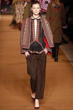 Etro / Fall 2014 / RTW / High Fashion / Ethnic & Oriental / Carpet & Kilim & Tiles & Prints & Embroidery Inspiration /