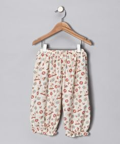 Take a look at this Ivory Old Fashion Toy Pants - Infant & Toddler by Carolina Kids on #zulily today!