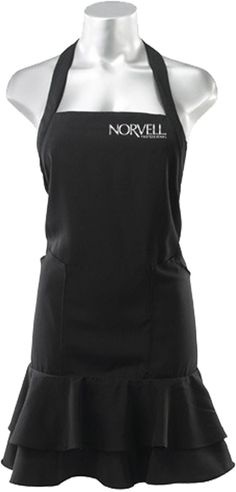 Cute Norvell Technician's Apron, in Black. One size fits most! Check it out