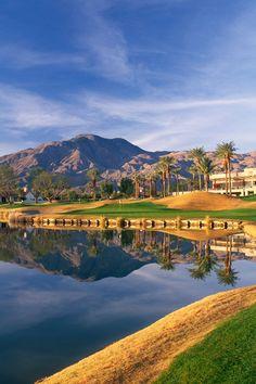 Take a swing at the five challenging championship golf courses on property. #Jetsetter La Quinta Resort Club, A Waldorf Astoria Resort (La Quinta, California)